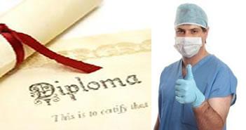 подтверждение диплома врача