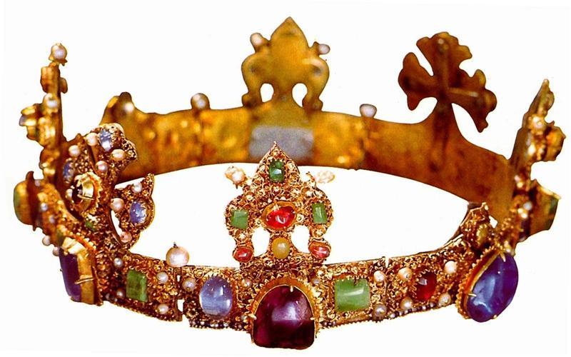 корона Карла Четвертого - выставка Прага