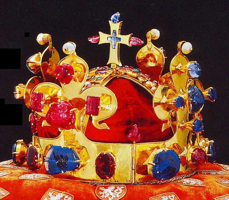 корона Карла Четвертого Чехия - выставка
