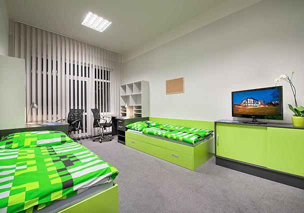 общежитие Праги при Карловом Университете